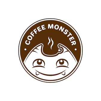Логотип coffee monster