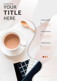 Дизайн плаката кофе