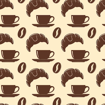 Кофе бесшовные модели