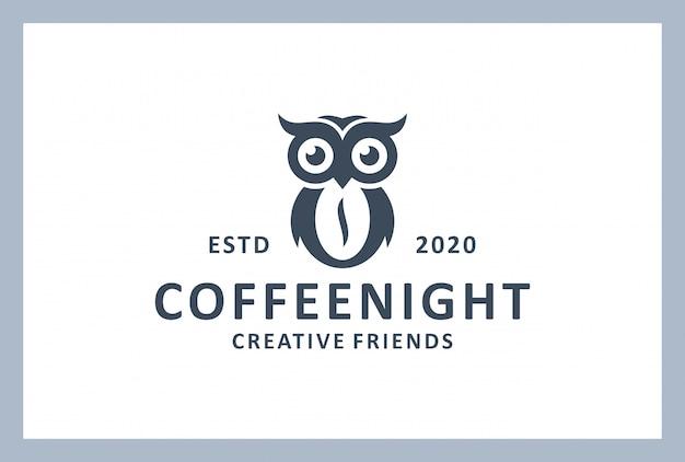 빈티지 스타일의 커피 숍 로고 디자인