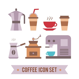 Coffee shop logo design template. retro coffee emblem.