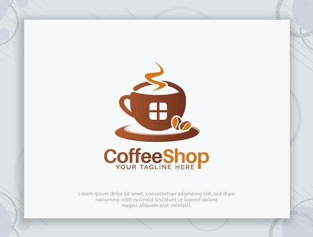 커피숍 로고 디자인