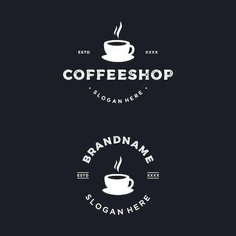 커피 숍 로고 디자인