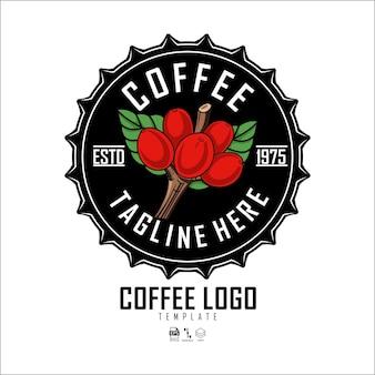 コーヒーショップロゴテンプレート