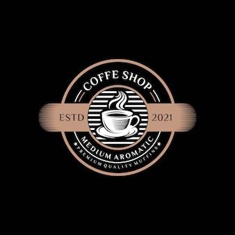 커피 숍 로고