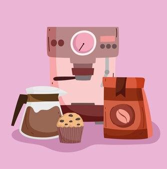 コーヒーショップマシン