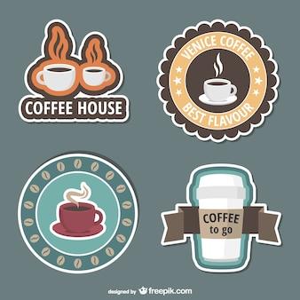 Кафе наклейки
