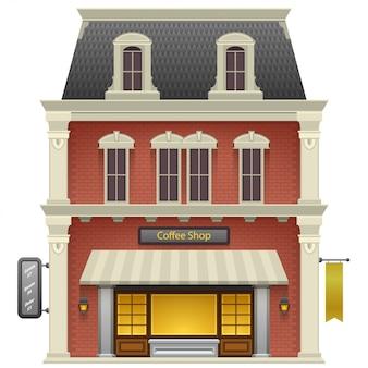 Кофейня магазин или кафе.