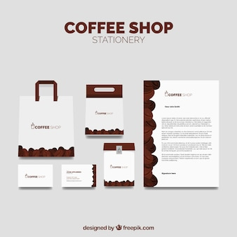 Coffee stationery pack