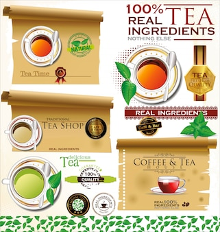 Coffee and tea design