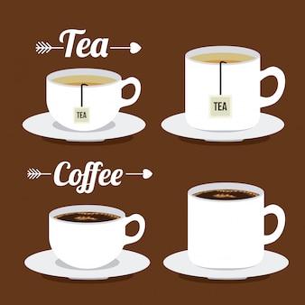 Coffee and tea time