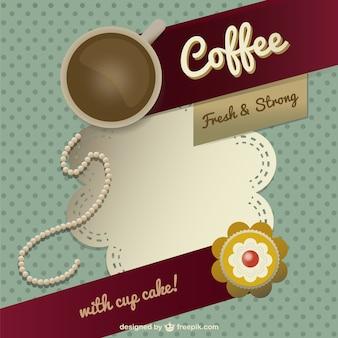 Modello di progettazione caffè