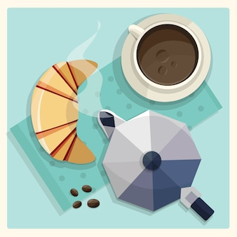 Coffee vector design