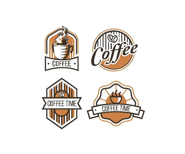 Coffee vintage logo