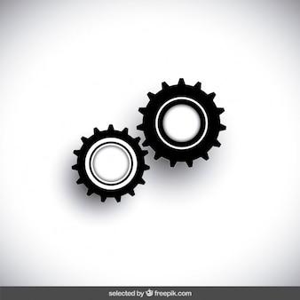 Cogwheel icons