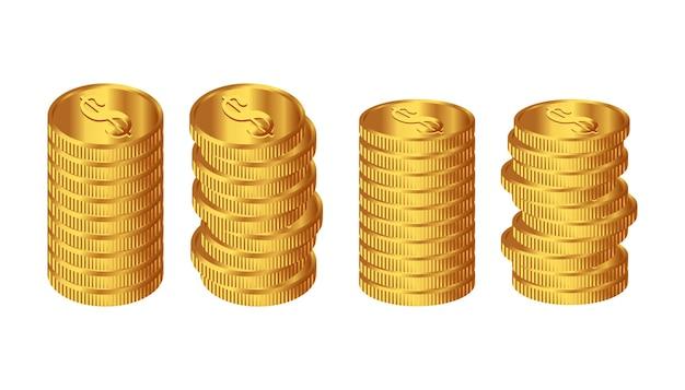 Вектор иллюстрации монеты