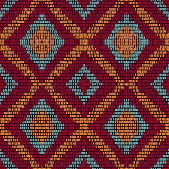 Cold repeat chevron. maroon carpet  seamless pattern. ethnic tie dye geometric . azure japan stripe background. arabic tribal navajo.
