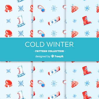 Cold winter pattern collection