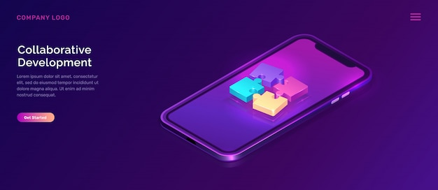 Collaborative development, isometric concept