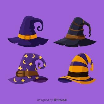 ハロウィーンの帽子のcollectio