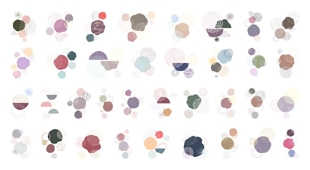 Collection of abstract backgrounds