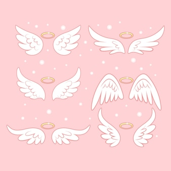 Collection of angel wings