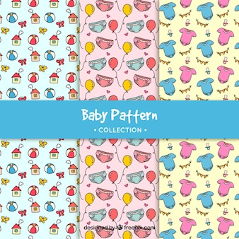 Collection of baby patterns