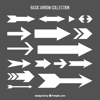 Collection of basic arrow