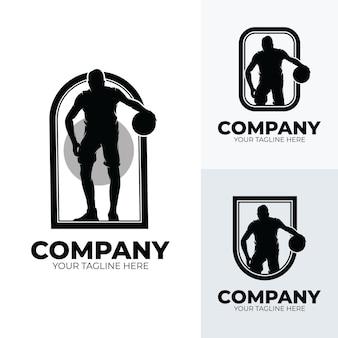 Collection of basketball player logo design