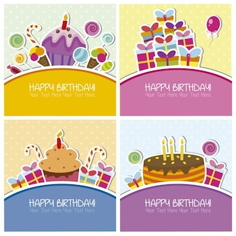 Collection of birthday cards