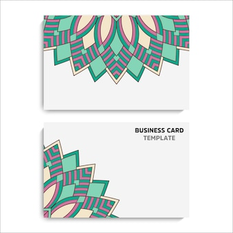 Collection business card or invitation.