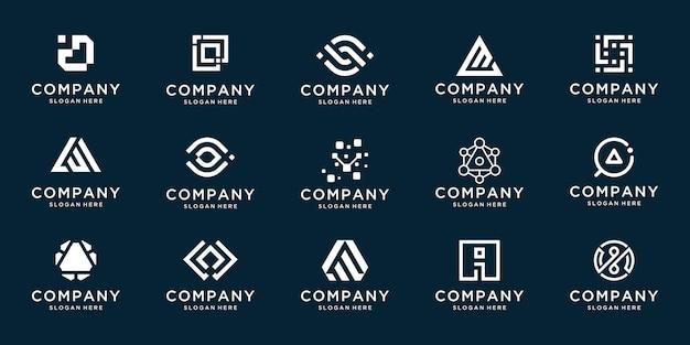 Коллекционный бизнес логотип