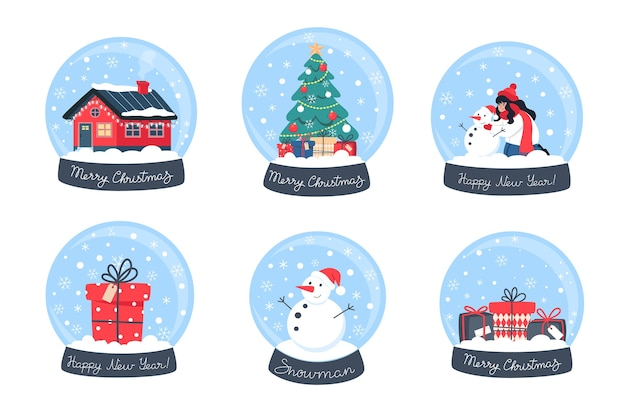 コレクションクリスマススノードーム