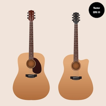 Collection classic guitar set