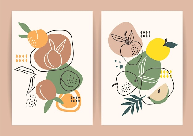 Collection of contemporary art prints