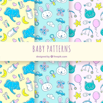 Collection of creative baby patterns
