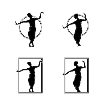 Collection of dancing logo