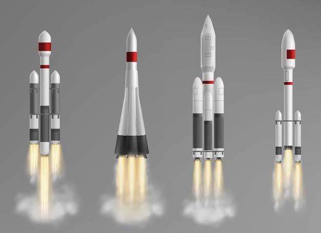 Raccolta di diversi razzi
