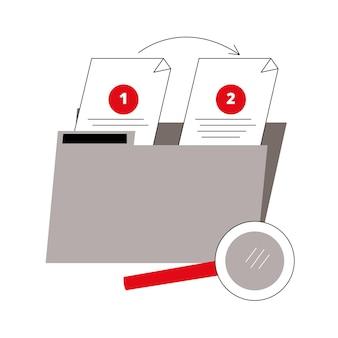 Папка с коллекционными документами