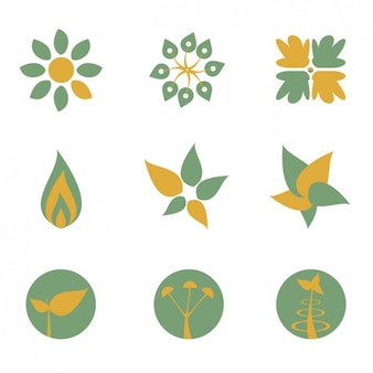 Collection of eco logos