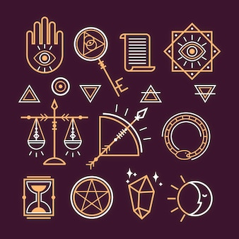 Collection of esoteric elements