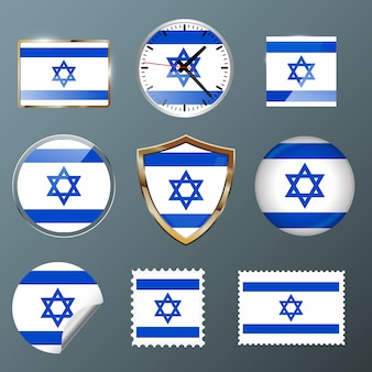 Collection flag israel