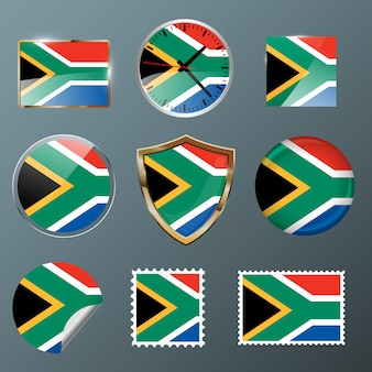 Collection flag south africa