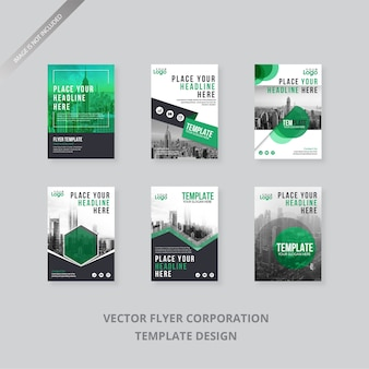 Collection flyer template