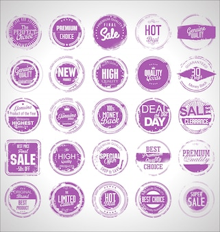 Collection grunge sale rubber stamp
