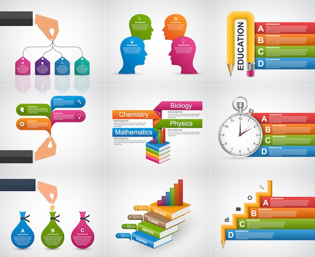 Collection infographics. design elements.