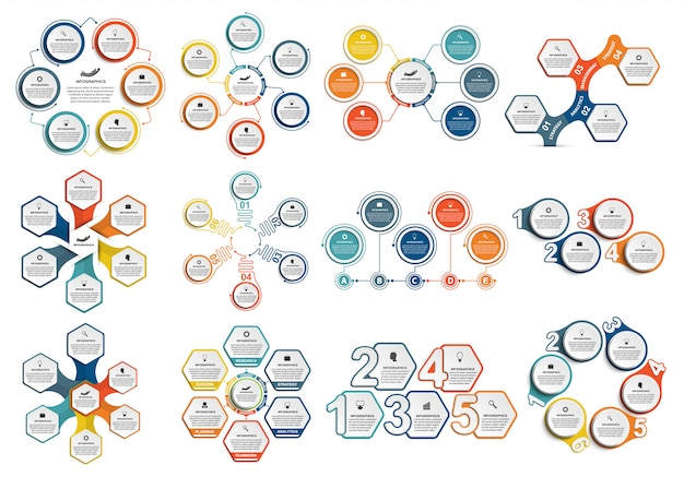 Collection infographics.