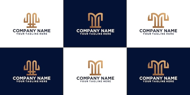 Collection of initial letter w logo designs designs for, business, fashion and technology