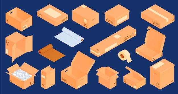 Collection of isometric packages