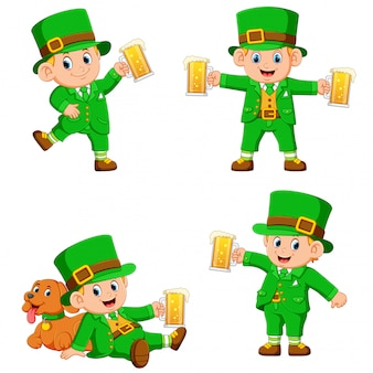Collection of leprechaun